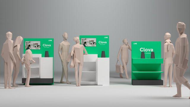 スマートスピーカー「Clova WAVE」、全国の対象家電量販店で販売開始