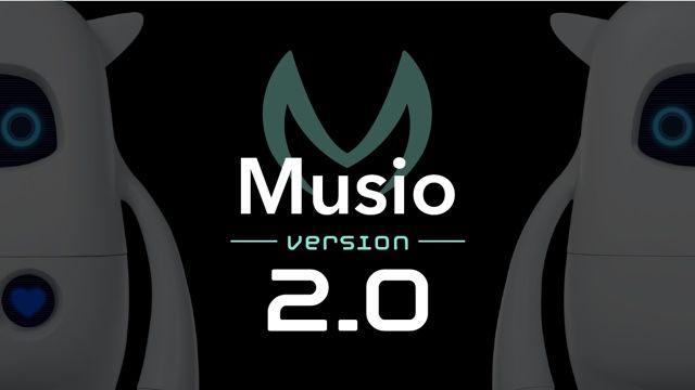 英語学習AIロボットMusio(ミュージオ)、2.0アップデートで新たなAIエンジンを搭載し、英語学習機能を拡充化